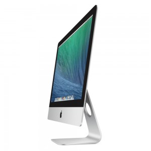 Apple 21 inch iMac thin